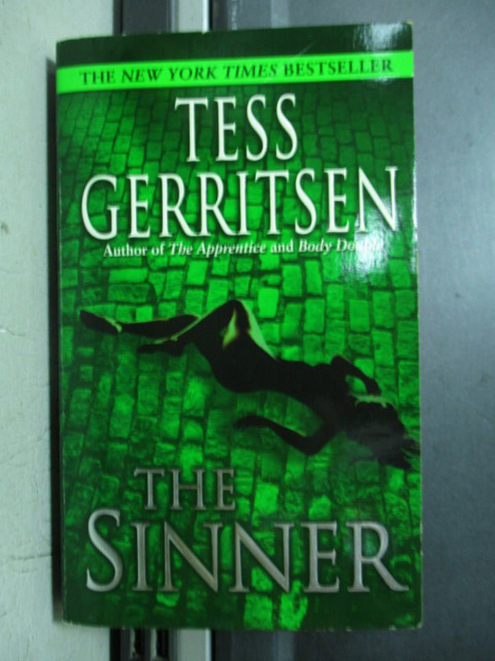 【書寶二手書T6/原文小說_OQF】The sinner_Tess gerritsen