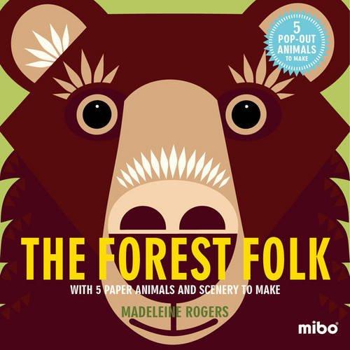 Mibo The Forest Folk 趣味勞作童書-森林一族