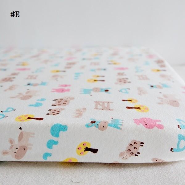 嬰兒【精梳棉】床包。嬰兒床單。嬰兒床罩-E歡樂農場