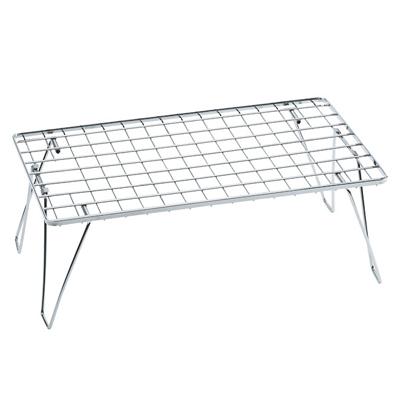 UNIFLAME 折疊置物網架/露營置物架/摺疊桌/冰桶架 日本製 U611630