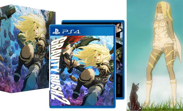 預購中 2017年1月18日發售 亞洲中文版  [輔導級] PS4 重力異想世界完結篇 限定版