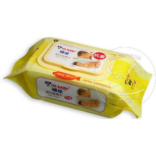 【迷你馬】US BABY 優生 超厚型柔濕巾80抽(3入) 4710091178279