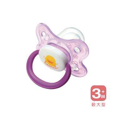 【悅兒樂婦幼用品舘】Piyo 黃色小鴨 拇指型安撫奶嘴(較大型)