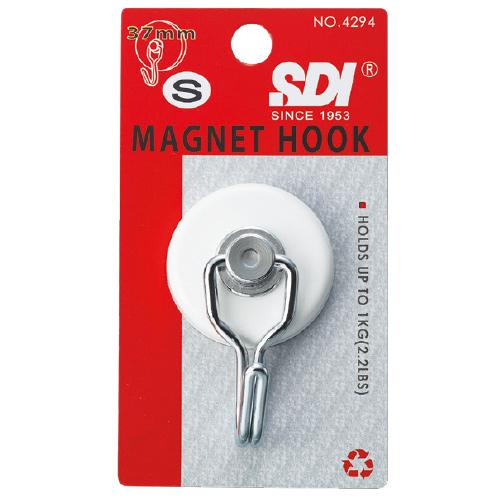 【SDI 手牌 磁鐵掛勾】0294C(NO.4294)(小)超級強力磁鐵掛勾/耐加重1kg