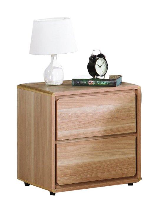 【尚品家具】JF-037-1 比爾橡木紋床頭櫃