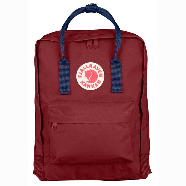 【Fjallraven Kanken 】K?nken Classic 326-540 Ox red & Royal Blue 公牛紅皇家藍