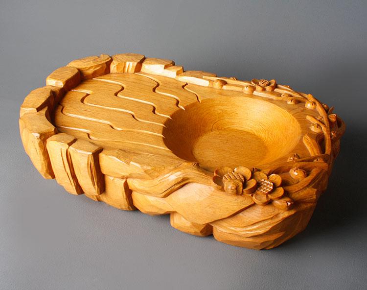 岩泉喜梅(泡茶盤)