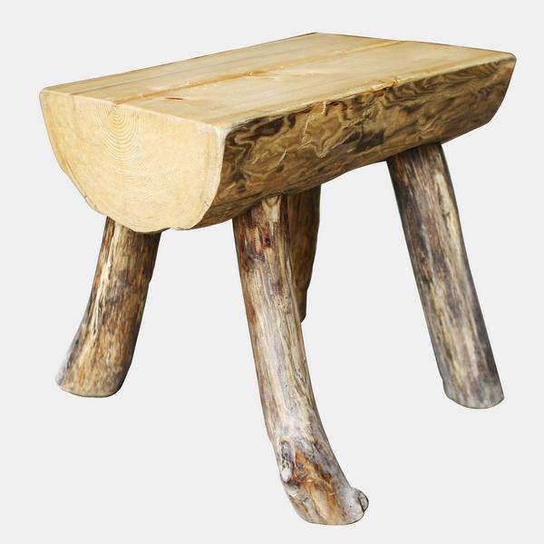 原木造型椅