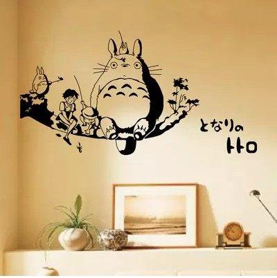 龍貓貼紙壁貼壁紙貼飾大高50公分121168海渡