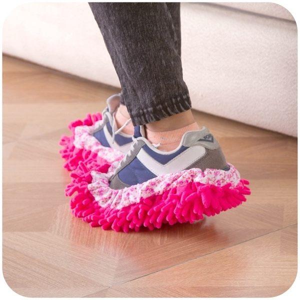 PS Mall 清潔拖鞋鞋套 懶人拖地鞋套清潔鞋套【J622】