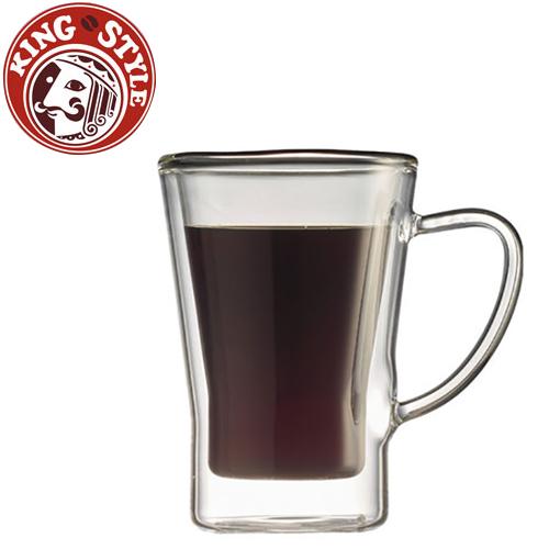 金時代書香咖啡 Tiamo 雙層玻璃杯 170cc 2入