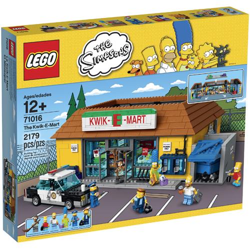 樂高積木 LEGO《 LT71016 》The Simpsons 辛普森家庭系列 > The Kwik-E-Mart