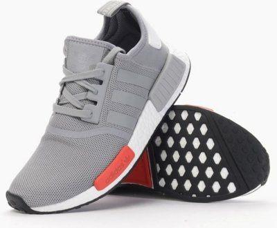 【蟹老闆】Adidas 愛迪達 adidas NMD runner 灰紅配色 白底 運動休閒鞋 少量現貨 男女段