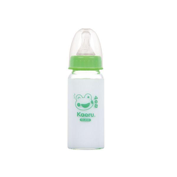 Kaeru哈皮蛙 - 標準口徑玻璃奶瓶 140ml