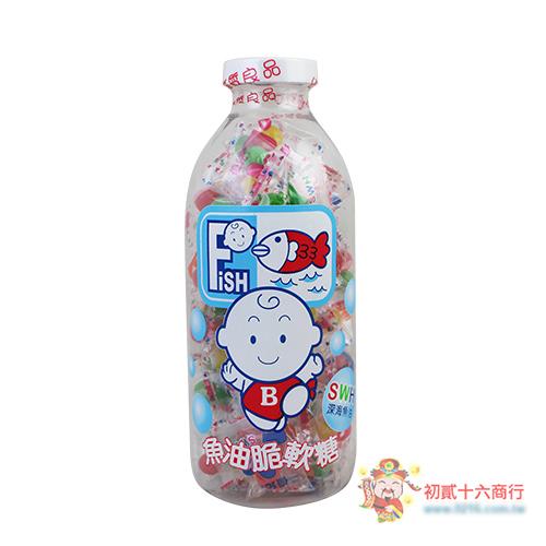 【0216零食會社】優兒彩衣魚肝油球170g