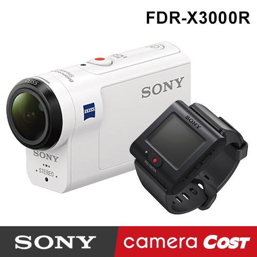 【4K防水】SONY FDR-X3000R 4K 攝影機 公司貨 送SanDisk64G+副電+座充超值組 X3000R X3000 防水