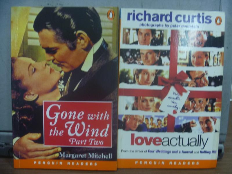 【書寶二手書T1/原文小說_OQV】Gone with the wind part two等_共2本合售_1936