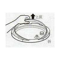 日虎微電腦壓力鍋-鍋蓋密封圈