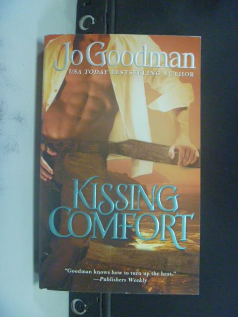 【書寶二手書T1/原文小說_GSE】Kissing Comfort_Jo Goodman