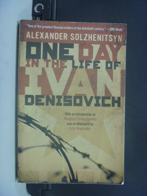 【書寶二手書T2/原文小說_GLU】One Day in the Life of Ivan_Aleksandr
