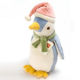 美國miYim有機棉安撫娃娃-噗噗企鵝中型54cm
