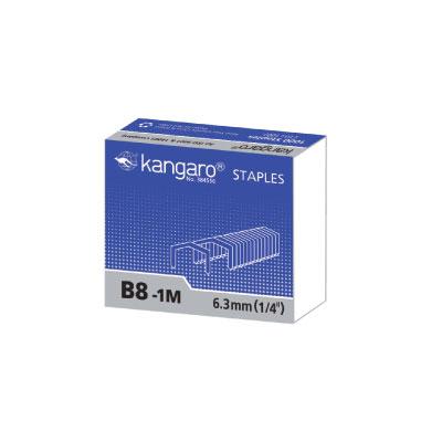 袋鼠 kangaro B8-1M 釘書針 / 盒