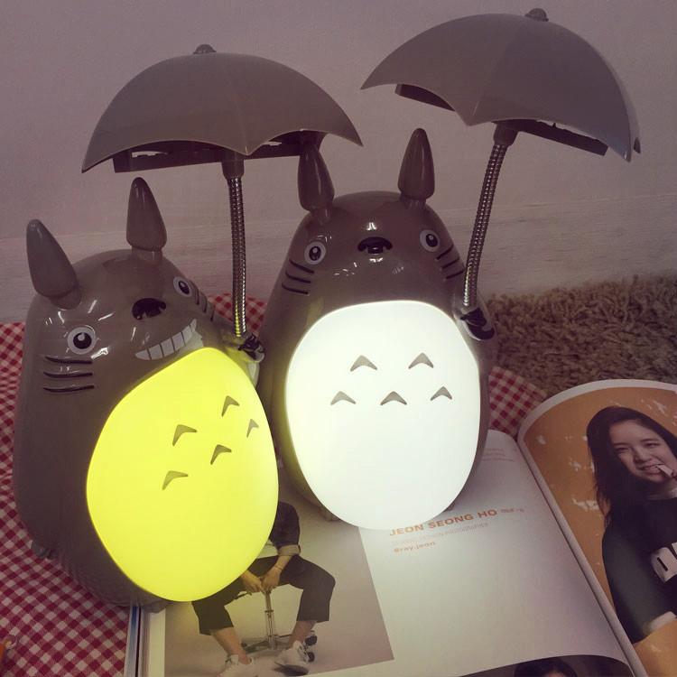 PGS7 日本卡通系列商品 - 龍貓 造型 按鍵 小夜燈 裝飾 宮崎駿 totoro 吉卜力