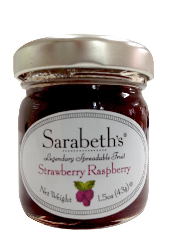 天然手工迷你果醬-覆盆子草莓口味 Strawberry Raspberry【Sarabeth's Kitchen】
