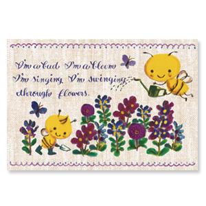 14年Buzzy的花園【卡雷爾恰佩克Karel Capek 】-山田詩子/手繪明信片