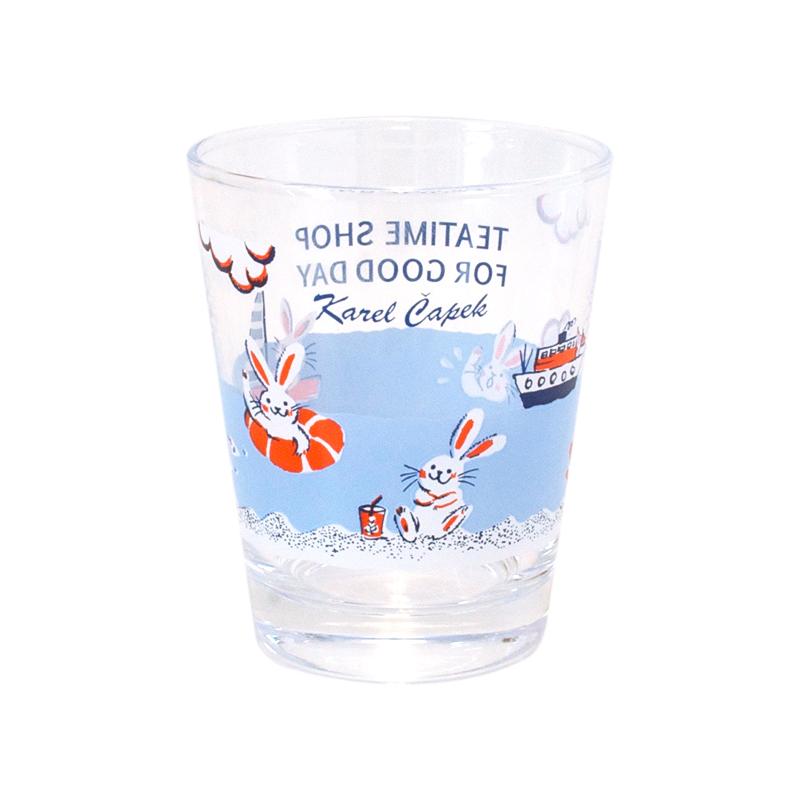 玻璃杯-Seaside Bunny【卡雷爾恰佩克Karel Capek 】山田詩子/泡茶道具