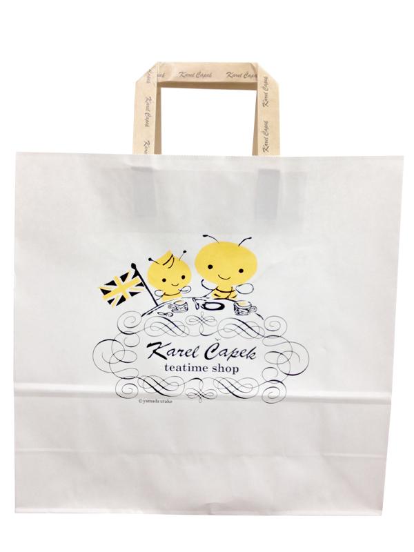 日本原裝進口紙提袋-Buzzy版(大)【卡雷爾恰佩克Karel Capek 】山田詩子/紅茶/季節紅茶
