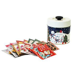 耶誕紅茶紀念罐8種風味*2入【卡雷爾恰佩克Karel Capek 】山田詩子/日系雜貨