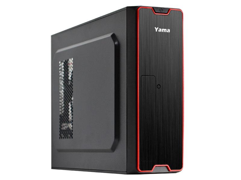 【迪特軍3C】YAMA 雅瑪 火鶴 USB3.0 電腦小機殼 髮絲紋高質感設計 支援USB3.0前置接頭 內含400W上至電源