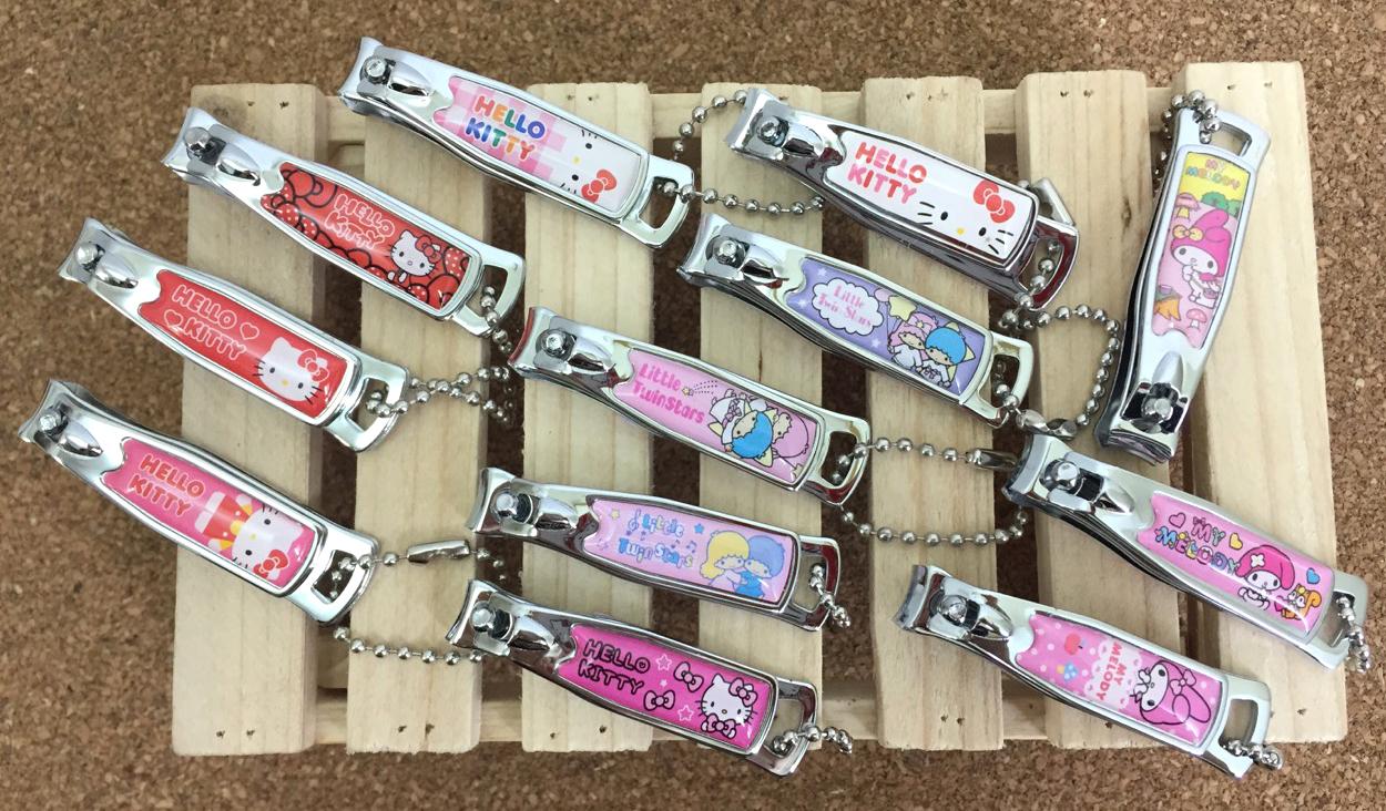 【真愛日本】15061300002 KT水晶貼指甲剪 三麗鷗 Hello Kitty 凱蒂貓 美容 美甲 隨機出貨 正品 限量
