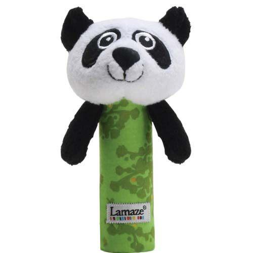 【奇買親子購物網】Lamaze 拉梅茲 嬰幼兒玩具-搖搖棒小PANDA