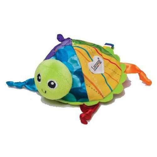 【奇買親子購物網】Lamaze 拉梅茲 嬰幼兒玩具-啪嗒啪嗒小烏龜