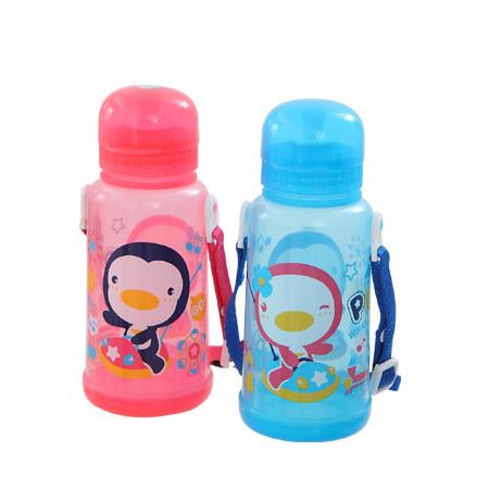 【奇買親子購物網】藍色企鵝 PUKU Petit 企鵝水壺 350C.C-(藍/粉)