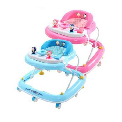 【奇買親子購物網】藍色企鵝 PUKU Petit 多功能學步車-(藍色/粉色)