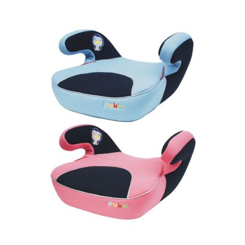 【奇買親子購物網】藍色企鵝 PUKU Petit 安全輔助座椅(水藍/紅/深藍/粉)