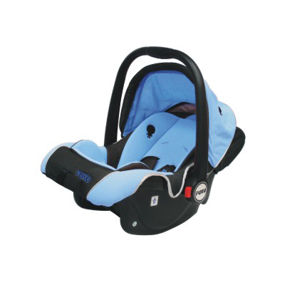 【奇買親子購物網】藍色企鵝 PUKU Petit 三合一汽車安全座椅(藍/粉)