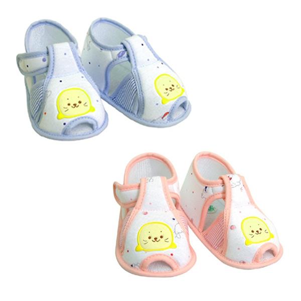 【奇買親子購物網】黃金海獺  印花嬰兒學步鞋