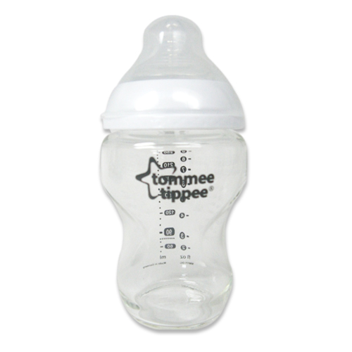 【奇買親子購物網】Tommee Tippee 玻璃防脹氣奶瓶250ml