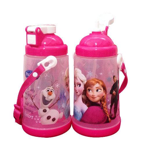 【奇買親子購物網】冰雪奇緣按壓式水壺
