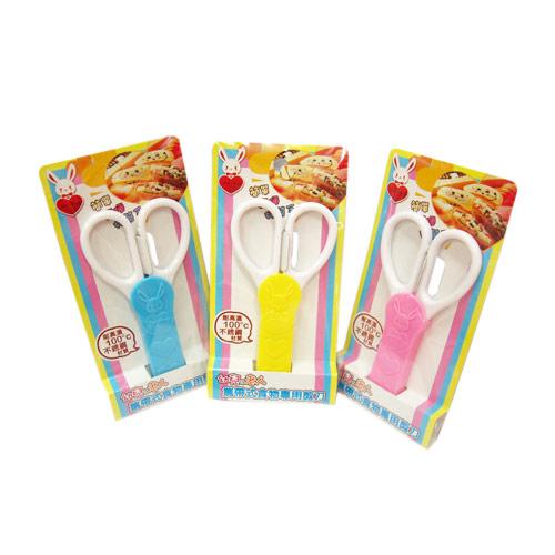 【奇買親子購物網】台製攜帶式食物剪刀