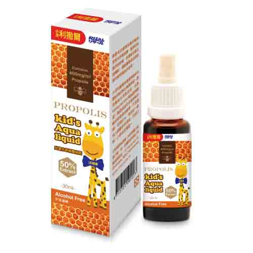 【奇買親子購物網】小兒利撒爾 兒童水萃蜂膠滴劑(不含酒精)30ML