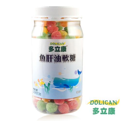 【奇買親子購物網】多立康魚肝油軟糖