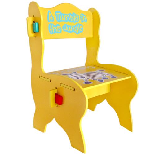 【奇買親子購物網】Kikimmy歐風斑馬椅(有靠背)