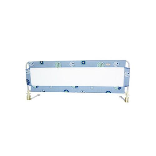 【奇買親子購物網】MONARCH 安全床邊護欄63*160cm-(愛床圈圈藍/奶油黃)
