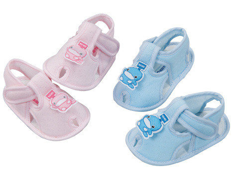 【奇買親子購物網】酷咕鴨KU.KU. 幼兒學步鞋(藍色/粉色)