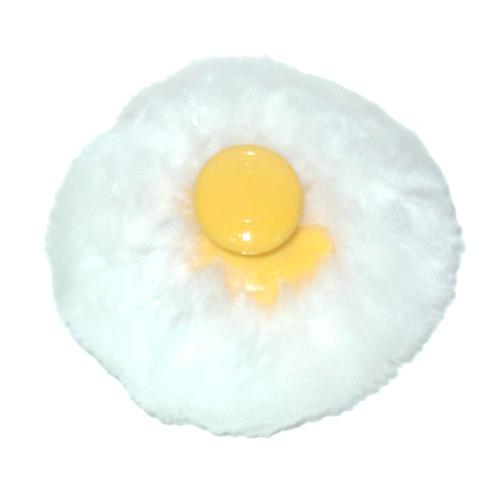 【奇買親子購物網】黃金海獺 長毛細質絨布粉撲球